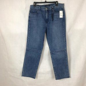 J Brand Ruby High Rise Crop Jeans Size 31